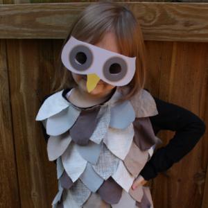 Disfraces de Buho para niños